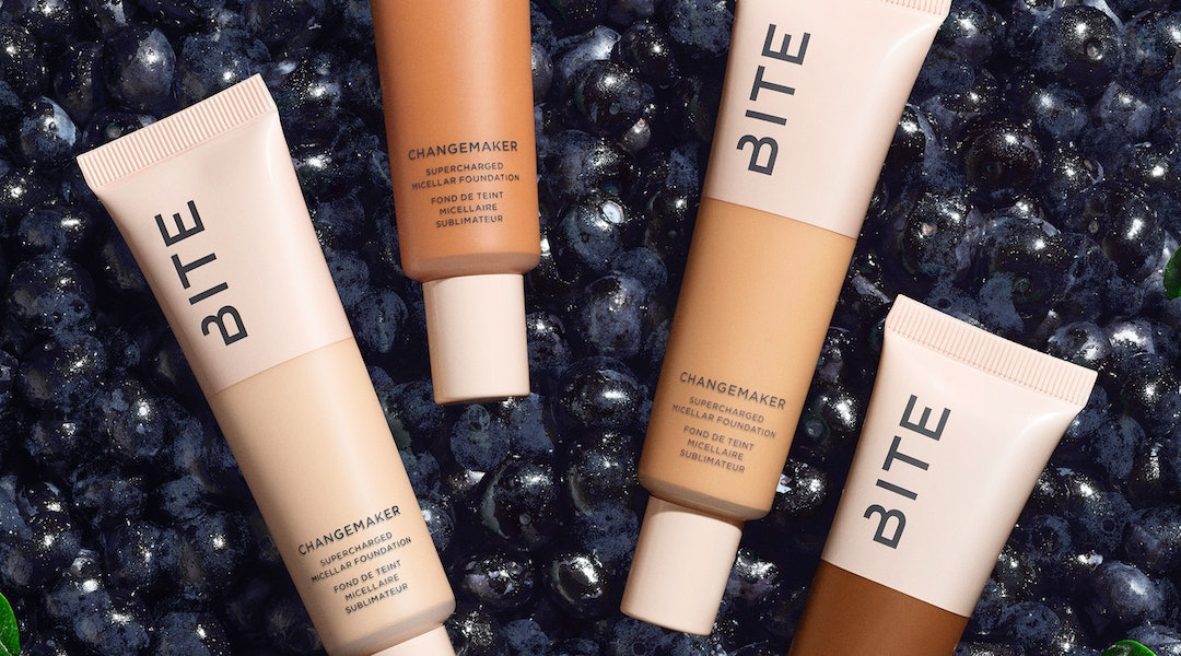 Bite Beauty's new Changemaker Complexion System includes a foundation that mimics the texture of your skin for beyond natural wear.