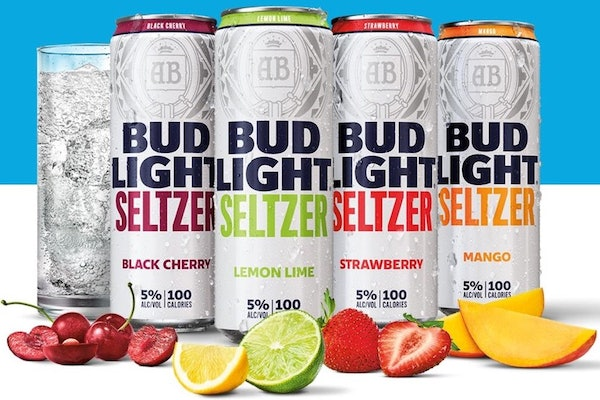 Bud Light Seltzer comes in four refreshing flavors.