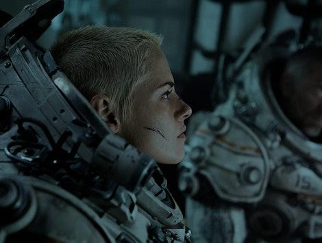 Kristen Stewart shaved her head for her role in 'Underwater.'