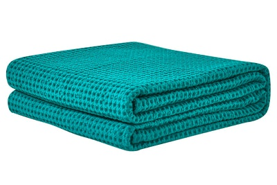 PHF Cotton Waffle Weave Blanket (Queen)