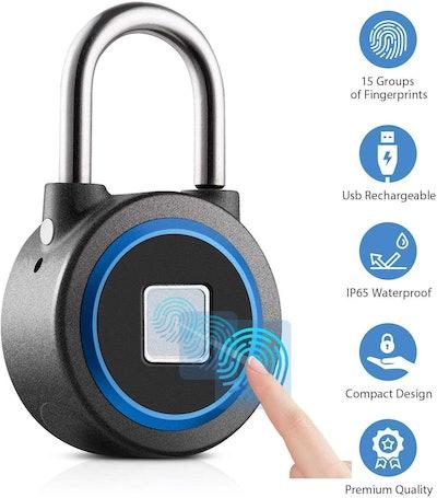 WGCC Fingerprint Padlock
