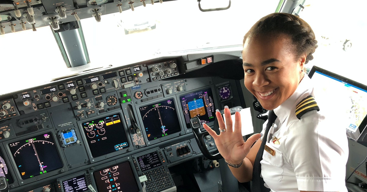 Delta Air Lines Pilot Monique Grayson Is Breaking Barriers & Challenging Stereotypes