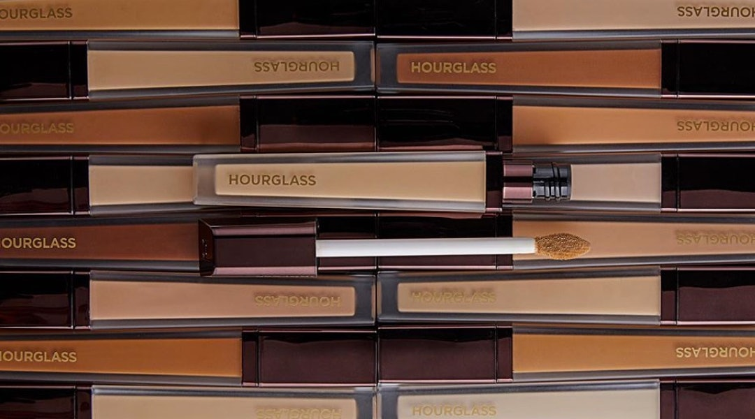 Hourglass' new Vanish Airbrush Concealer comes in 22 creamy, weightless full-coverage shades.