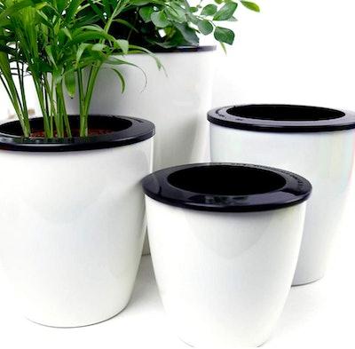 Mkono Self-Water Flower Pot (3-Pack)