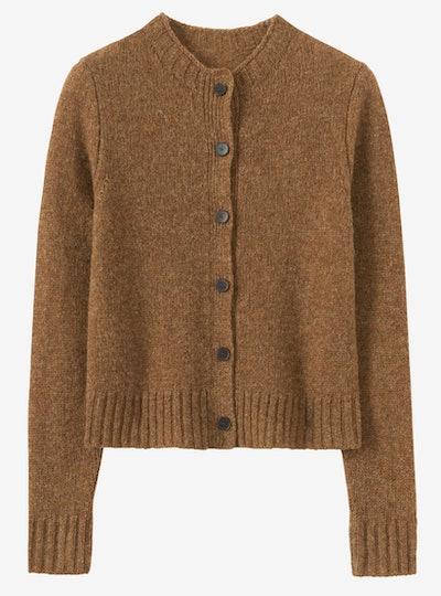 Wool Neat Cardigan