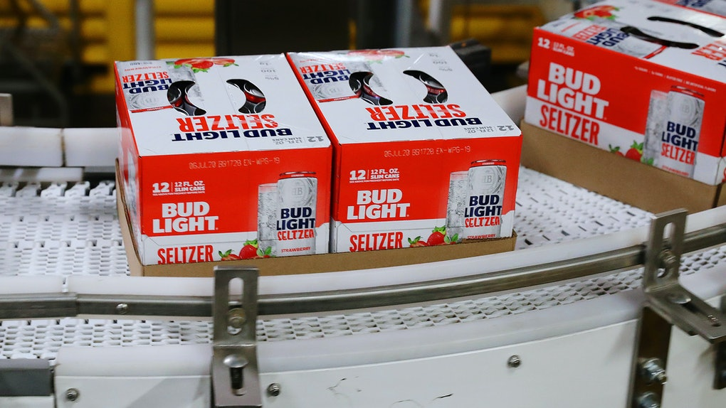 Beer-free Bud Light Seltzer is the brewing giant's latest innovation.