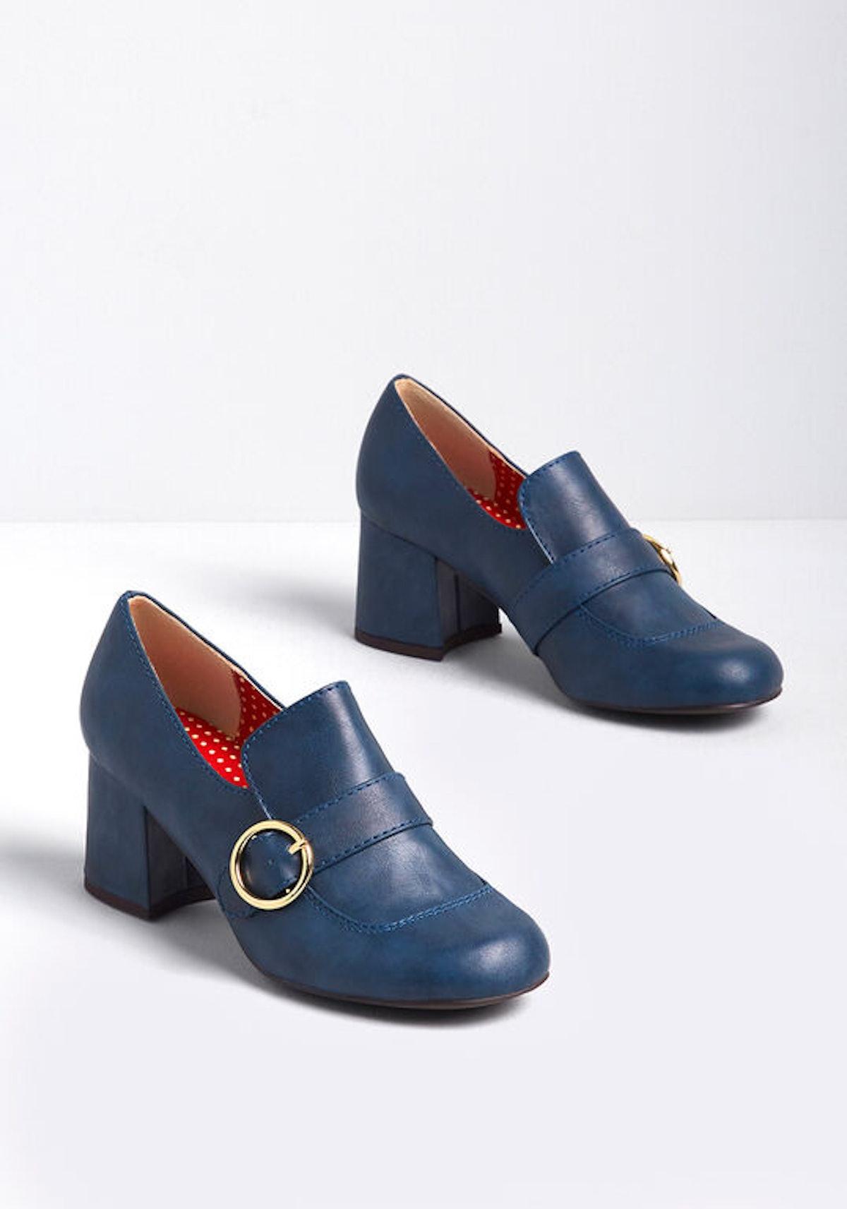 B.A.I.T Footwear A StylishAgenda Heeled Loafer