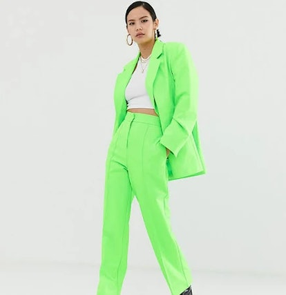 COLLUSION Pants in Neon-Green