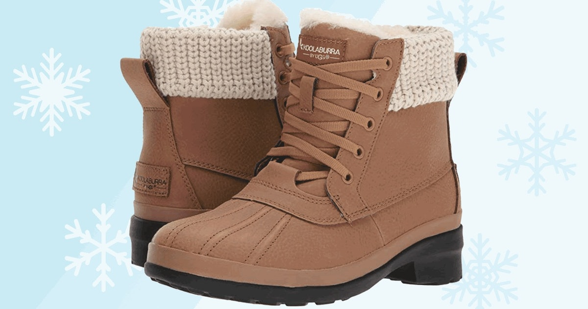 These Stylish Boots Are Just As Warm As They Look — Plus 7 Other Cozy Pairs On Amazon