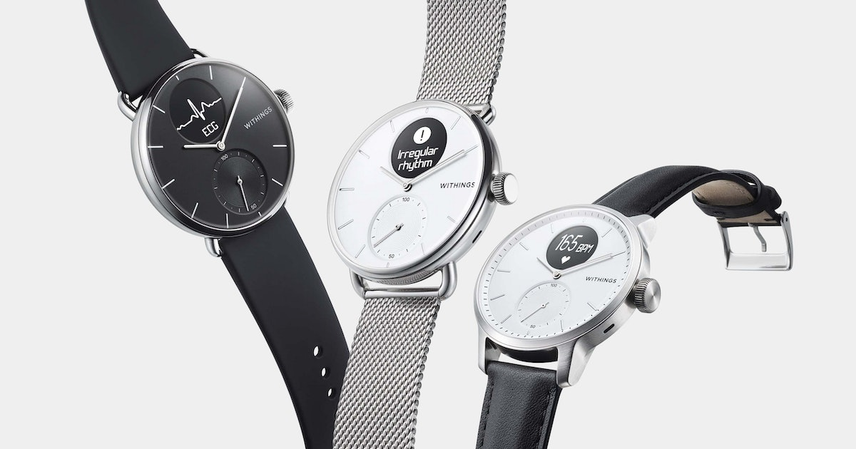 The Withings Scanwatch is my favorite wearable from CES 2020