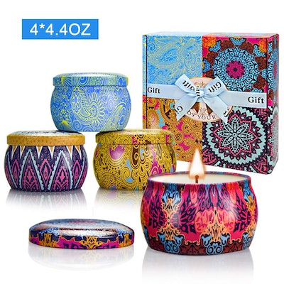 Yinuo Scented Candles (4-Piece Set)