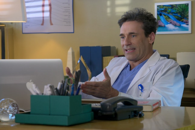 Jon Hamm in 'Medical Police' Season 1