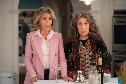 Jane Fonda and Lily Tomlin star in Grace and Frankie.