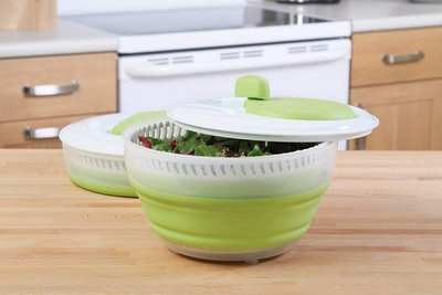Prepworks by Progressive Collapsible Salad Spinner