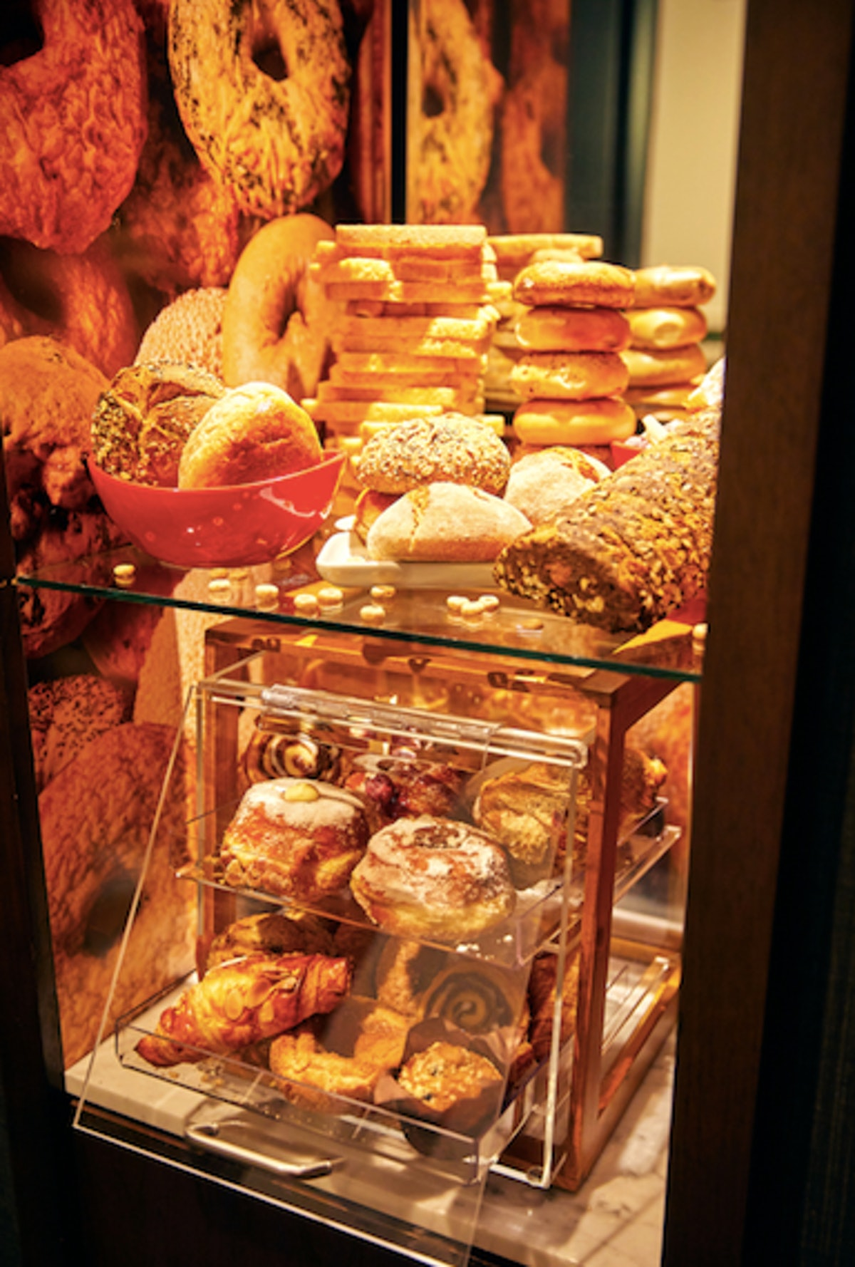 Hotels.com's Bread and Breakfast Hotel includes a minibar with baked goods.