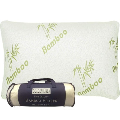 Bamboo Pillow Memory Foam