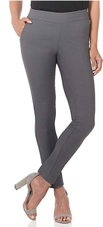 Rekucci Women's Ease Into Comfort Modern Stretch Pant