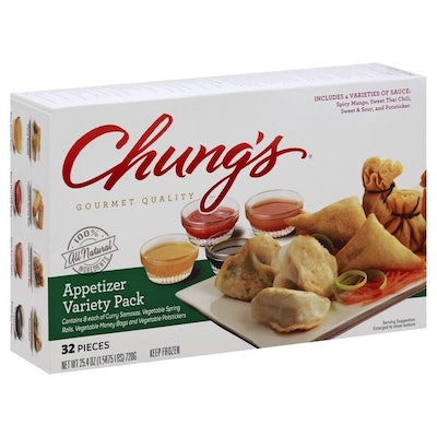 Chung's Asian Appetizer Assortment