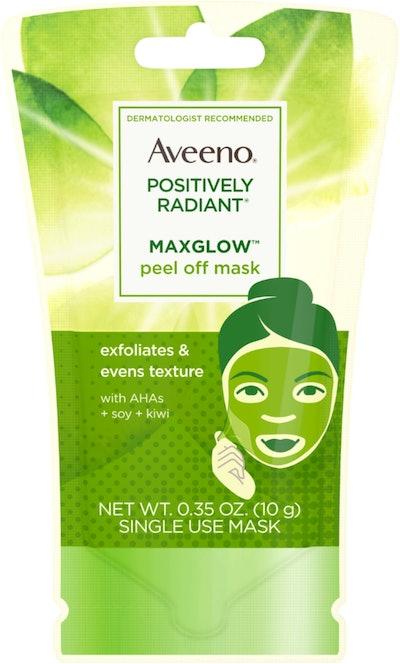 AVEENO Positively Radiant MaxGlow Peel Off Exfoliating Face Mask