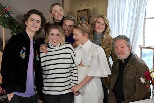 Greta Gerwig, Timothée Chalamet, Florence Pugh, Saoirse Ronan, Laura Dern, Chris Cooper, Eliza Scanlen, 'Little Women'