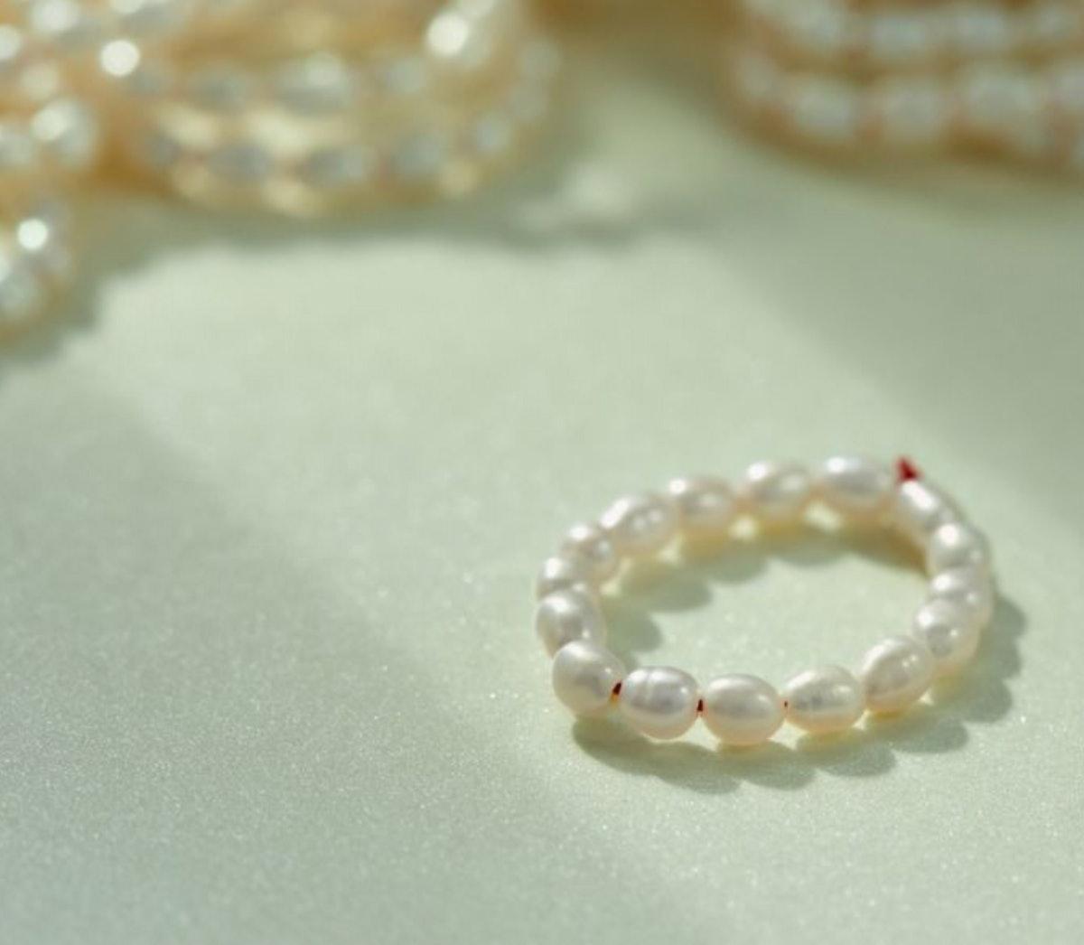 Pearl Buffet Ring
