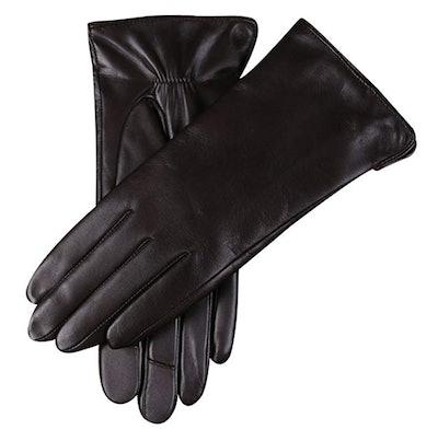 WARMEN Touchscreen Nappa Gloves