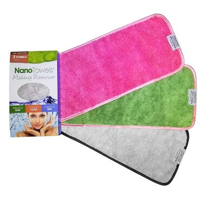 Nano Towel Makeup Remover Face Wash Cloth (3-Pack)