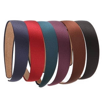 LONEEDY Non-slip Ribbon Hairband (Set of 6)