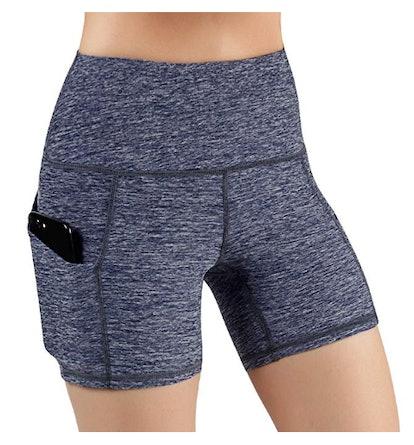 ODODOS High Waist Out Pocket Yoga Short