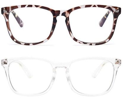 Livho 2 Pack Blue Light Blocking Glasses