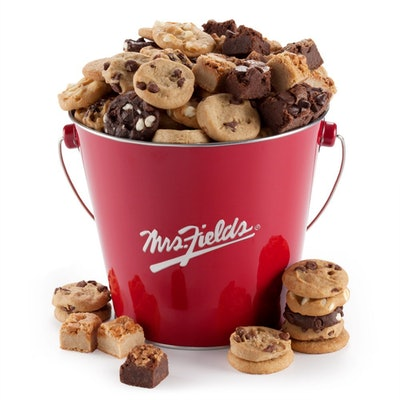 Mrs. Fields Assorted Brownie Bites & Cookies Pail