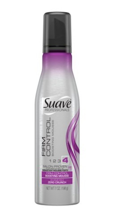 Suave Firm Control Boosting Mousse