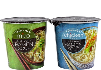 Add protein to beef up your ramen soup at lunch.