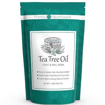Purely Northwest Tea Tree Oil Foot Soak