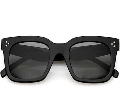 zeroUV Retro Flat Lens Sunglasses