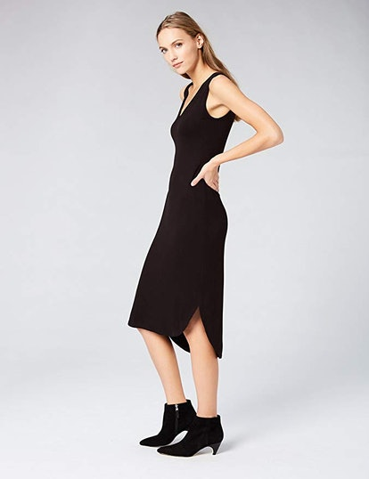 Amazon Brand - Daily Ritual Women's Jersey Midi Dress