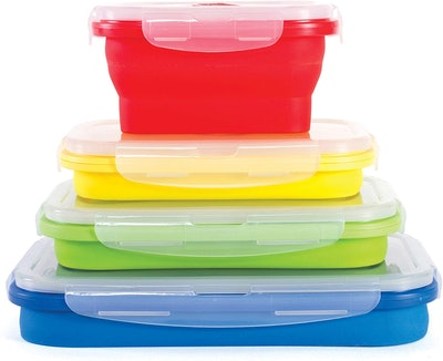 Kitchen + Home Collapsible Containers (4-Piece Set)