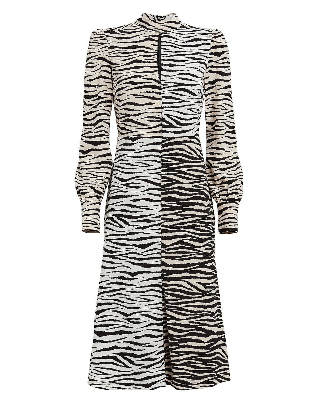 Kennedy Tiger-Printed Shift Dress