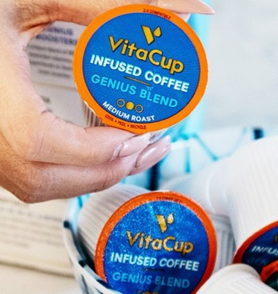 VitaCup Genius Coffee Pods (16-Pack)