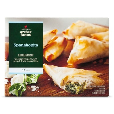 Greek-Inspired Spanakopita Phyllo Frozen Pastries