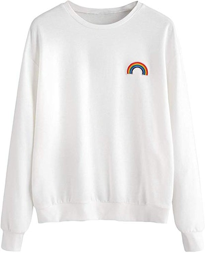 SweatyRocks Womens Sweatshirt