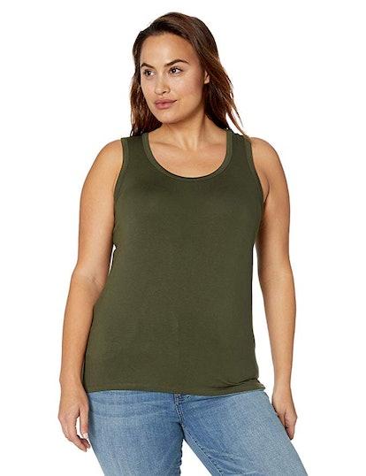 Amazon Brand - Daily Ritual Women's Plus Size Tank Top