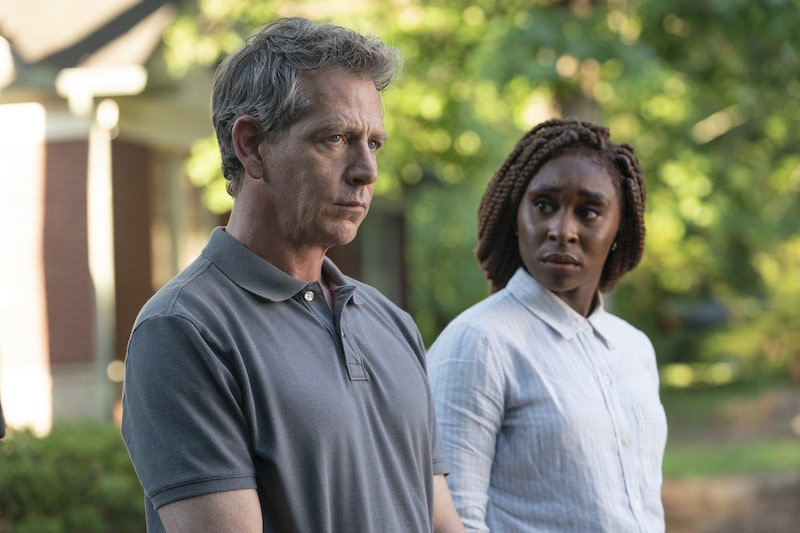 Ben Mendelsohn and Cynthia Erivo in The Outsider.