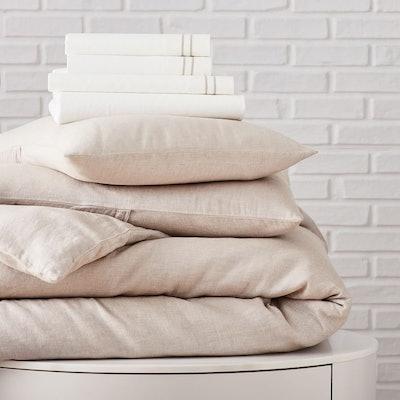 Hemp & Cotton Solid Starter Bedding Set