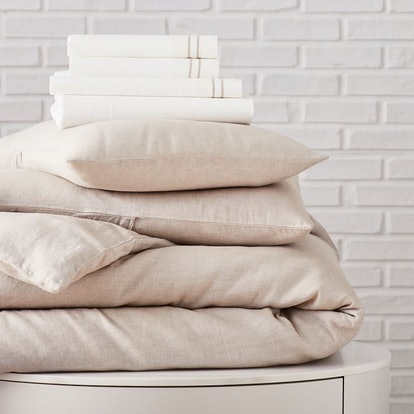 Hemp & Cotton Solid Starter Bedding Set
