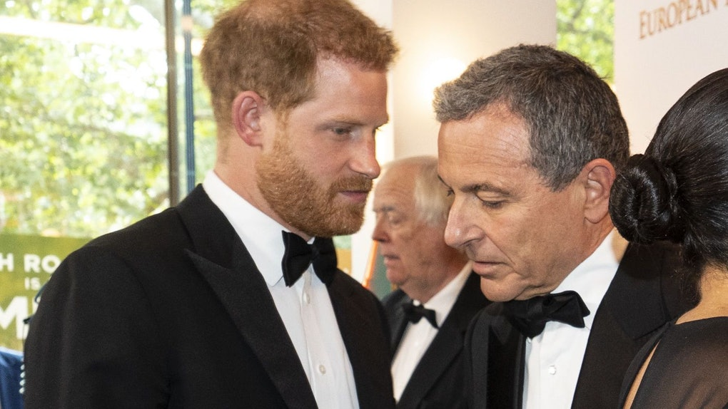 Prince Harry Seemingly Pitching Meghan To Disney CEO Bob Iger