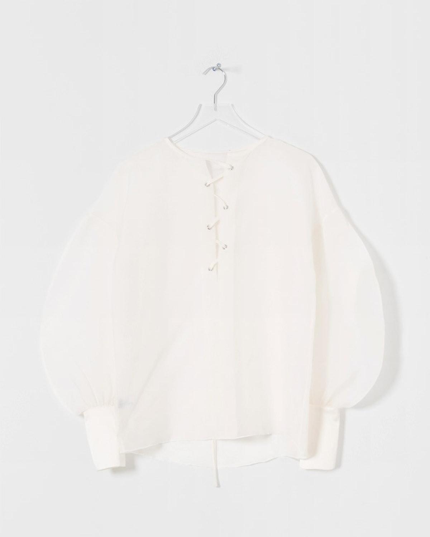 Ivory Organza Shirt