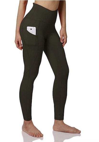 ODODOS Out Pocket High Waist Yoga Pant