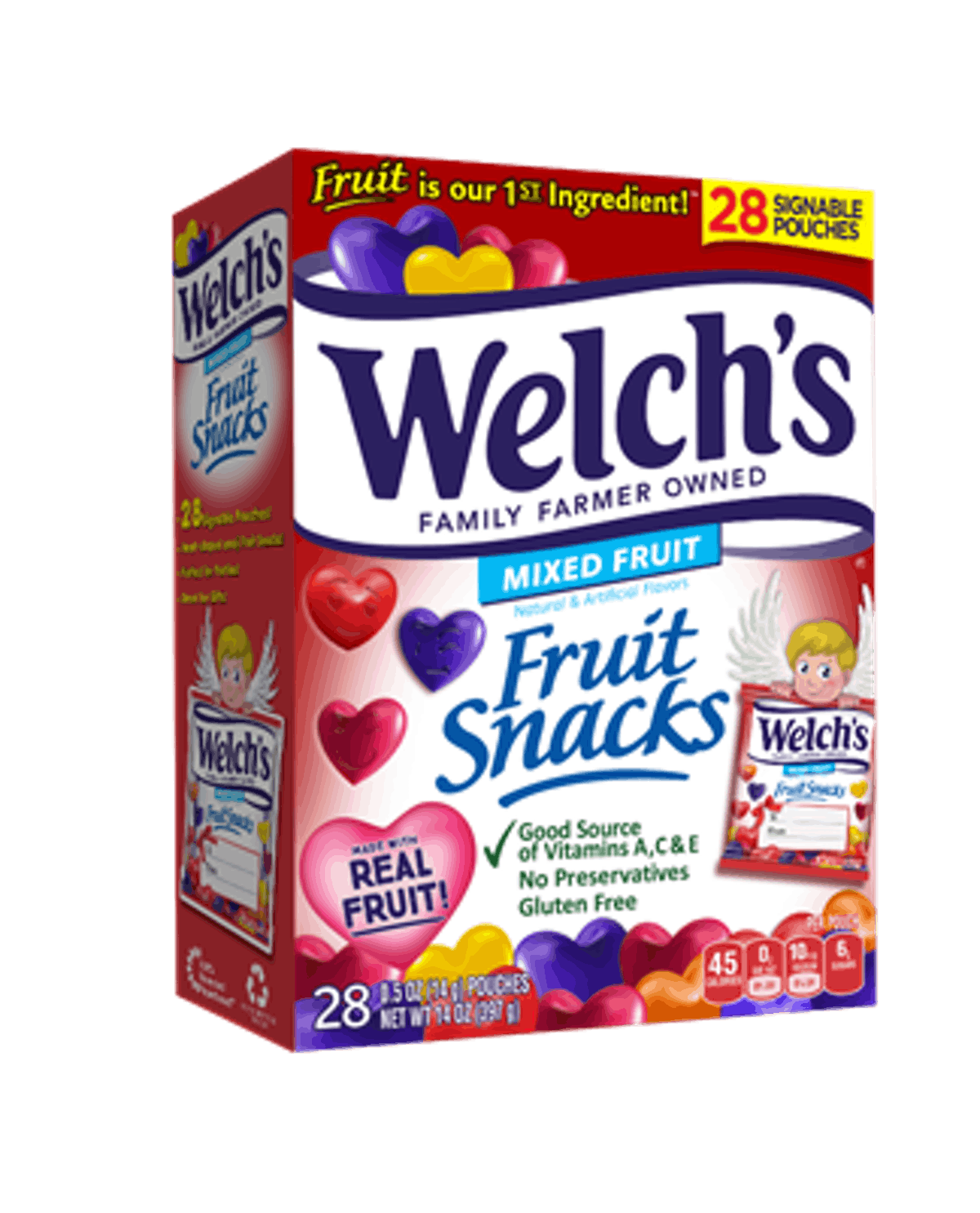 Welch's Valentine's Day Snacks are the perfect gifts.