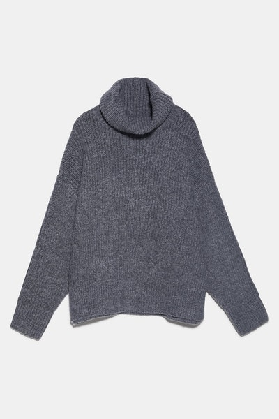 Oversized Wool and Aplaca Blend Sweater